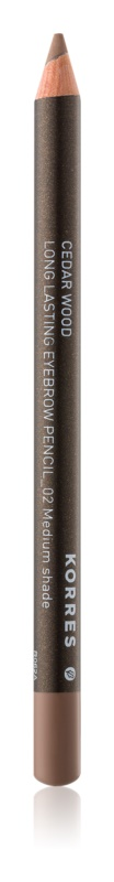 Korres Cedar Wood creion de sprancene de lunga durata