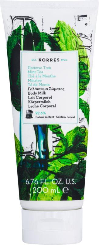 Korres Mint Tea hydratační tělové mléko