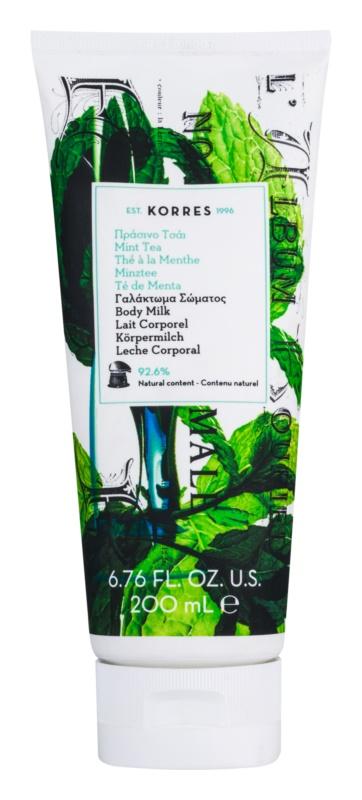 Korres Mint Tea Hydrating Body Lotion