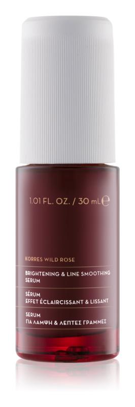 Korres Wild Rose vyhlazující a rozjasňující krém na obličej a oční okolí