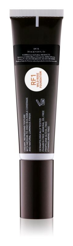 Korres Wild Rose make-up pentru luminozitate SPF 15