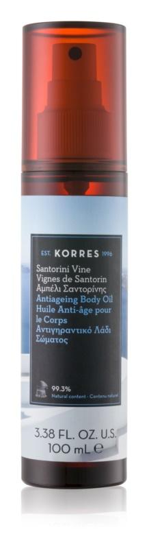 Korres Santorini Vine суха олійка проти ознак старіння