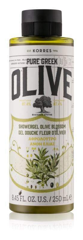 Korres Olive & Olive Blossom gel de dus