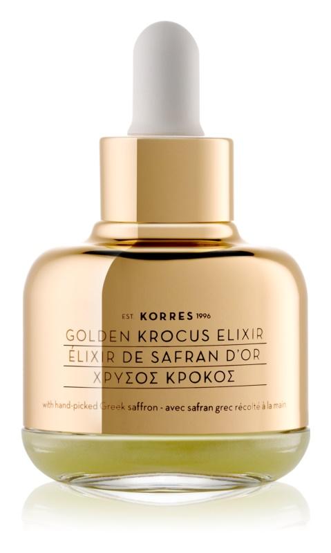 Korres Golden Krocus eliksir iz žafrana proti staranju kože