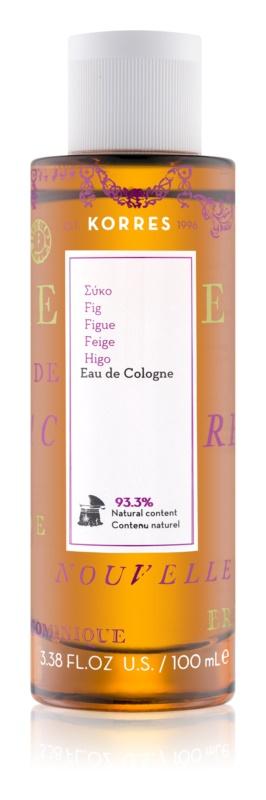 Korres Fig eau de cologne pentru femei 100 ml
