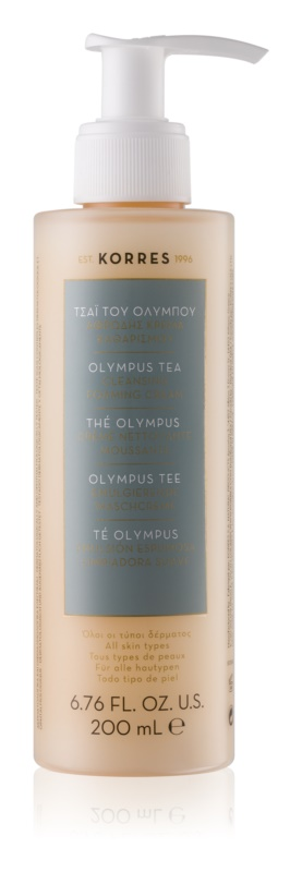 Korres Olympus Tea Cleansing Foaming Cream