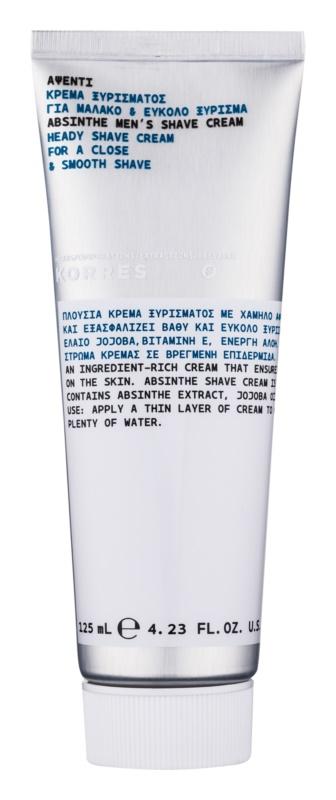 Korres Absinthe Head Shaving Cream