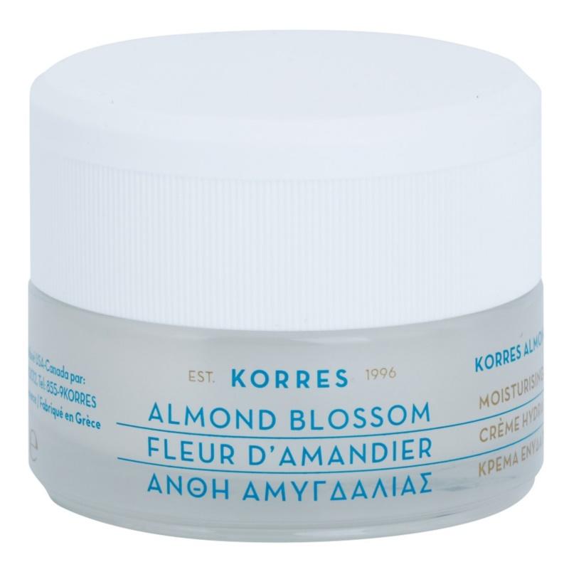 Korres Almond Blossom hydratační krém pro mastnou a smíšenou pleť