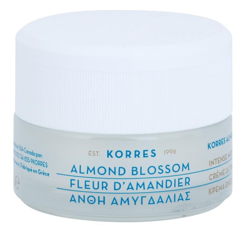 Korres Almond Blossom crema hidratante y nutritiva para pieles secas y muy secas