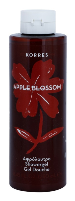 Korres Apple Blossom gel de ducha unisex 250 ml