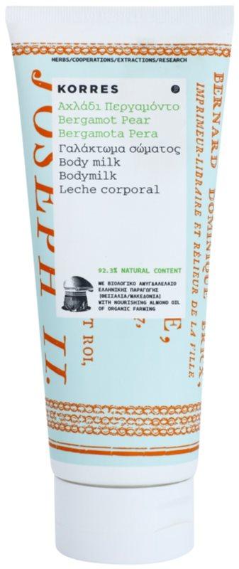 Korres Bergamot Pear hydratačné telové mlieko