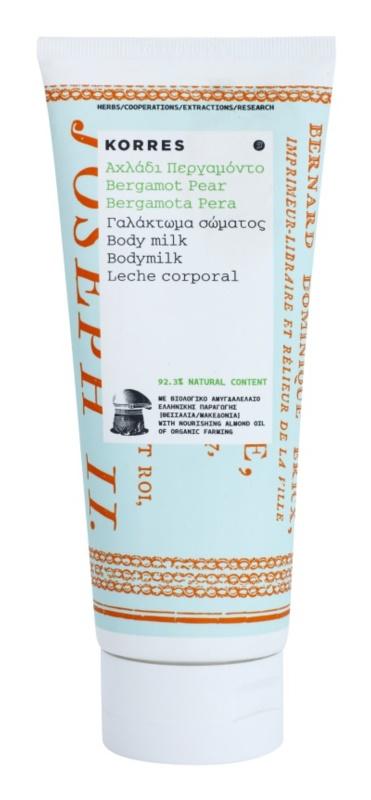 Korres Bergamot Pear leite corporal hidratante