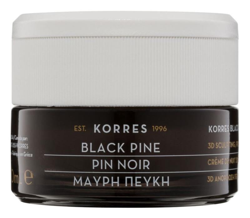 Korres Black Pine zpevňující noční krém s liftingovým efektem