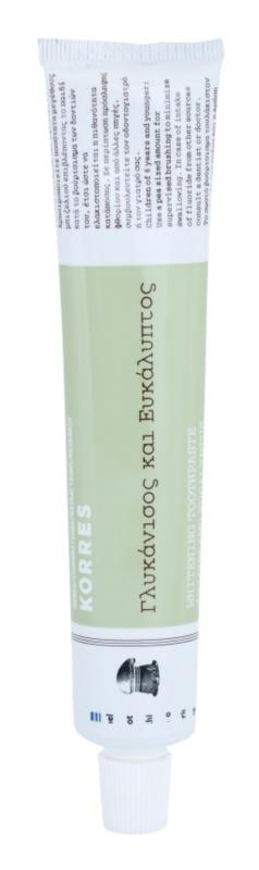Korres Anisum and Eucalyptus pasta de dientes blanqueadora