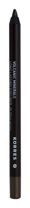 Korres Volcanic Minerals стійкий олівець для очей