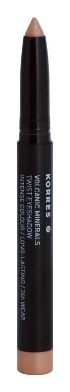 Korres Volcanic Minerals hosszantartó szemhéjfesték ceruza kiszerelésben
