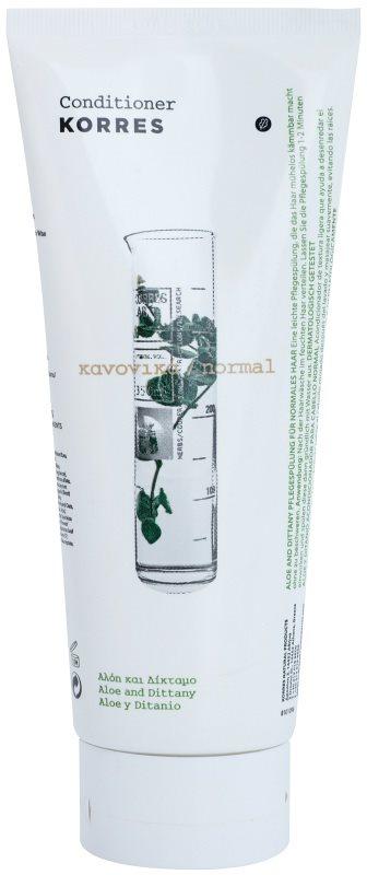 Korres Aloe & Dittany kondicionér pro normální vlasy