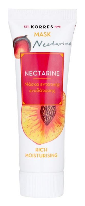 Korres Nectarine mascarilla hidratante intensiva
