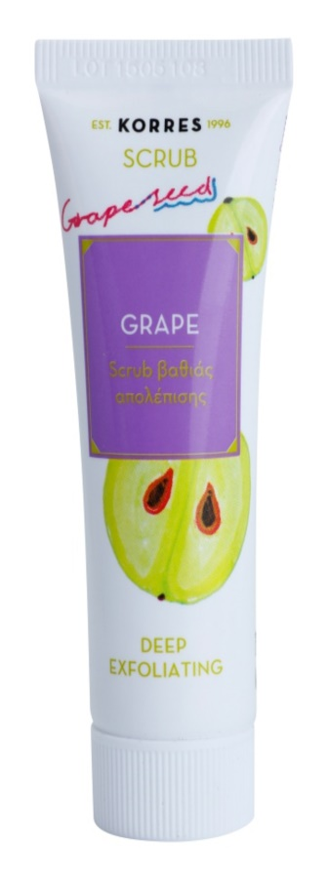 Korres Grape gommage purifiant en profondeur