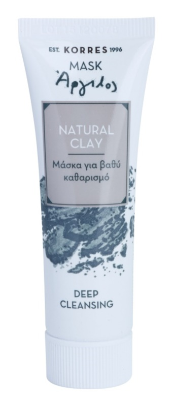 Korres Natural Clay mascarilla de limpieza profunda
