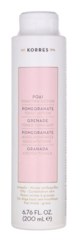 Korres Pomegranate tónico facial para pele mista a oleosa