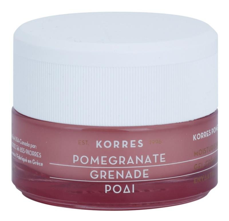 Korres Pomegranate creme gel hidratante para a redução do sebo para pele oleosa e mista