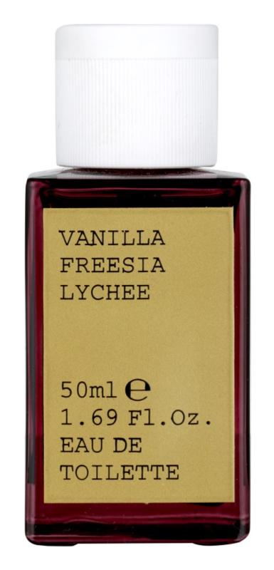 Korres Vanilla, Freesia & Lychee toaletná voda pre ženy 50 ml