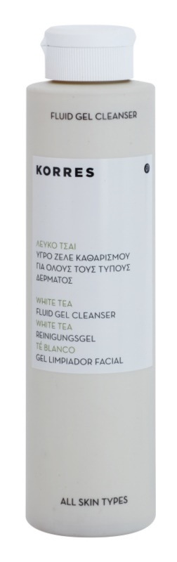Korres Face White Tea Fluid Gel Cleanser