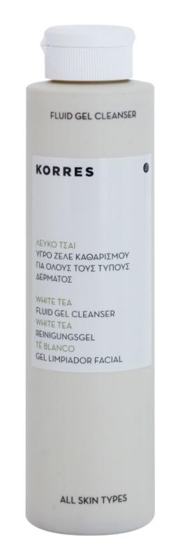 Korres White Tea gel de limpieza profunda
