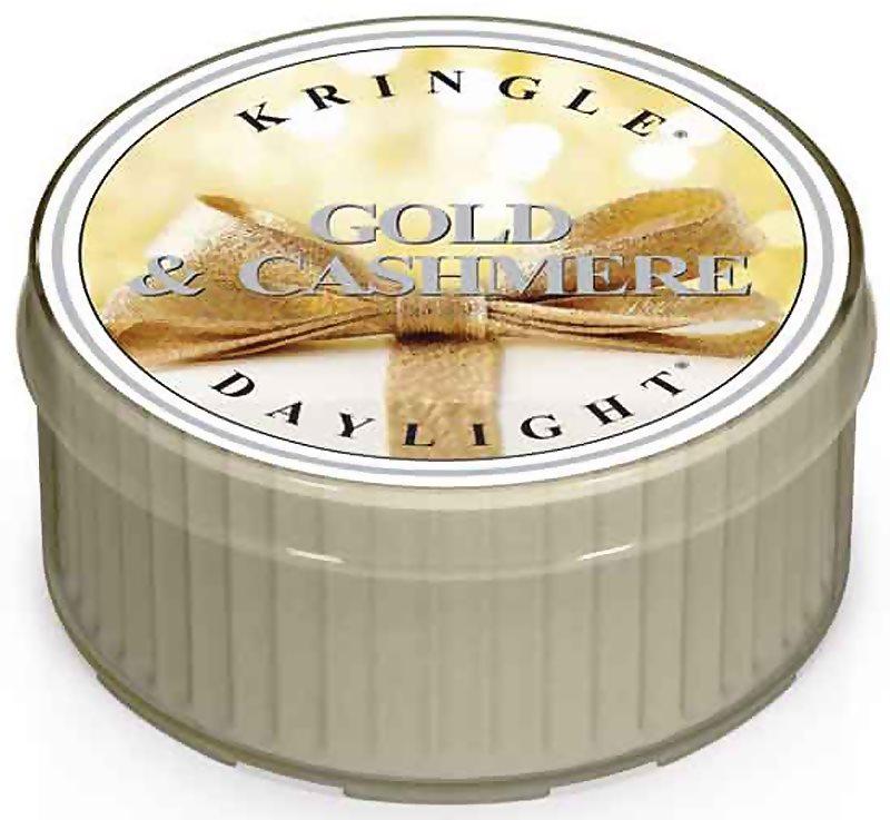 Kringle Candle Gold & Cashmere čajová svíčka 35 g