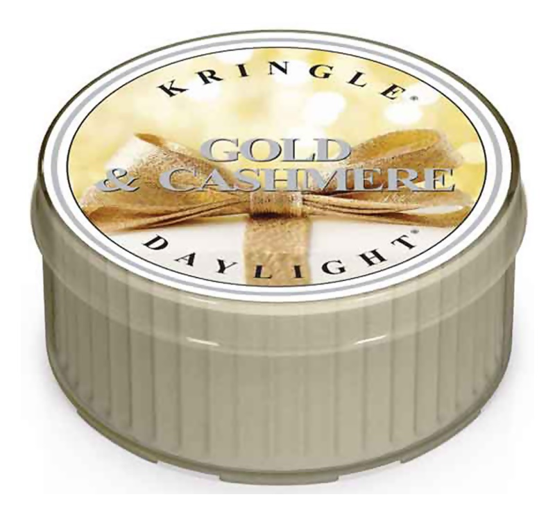 Kringle Candle Gold & Cashmere čajová sviečka 35 g