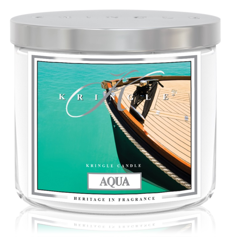 Kringle Candle Aqua Scented Candle 411 g I.