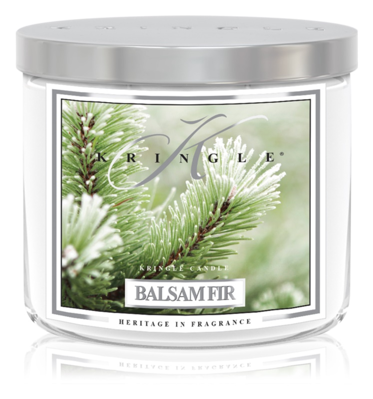 Kringle Candle Balsam Fir vonná svíčka 411 g I.