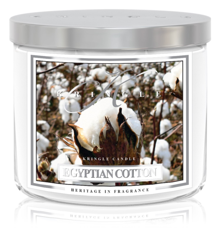 Kringle Candle Egyptian Cotton Geurkaars 411 gr I.