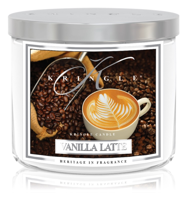 Kringle Candle Vanilla Latte Scented Candle 411 g I.