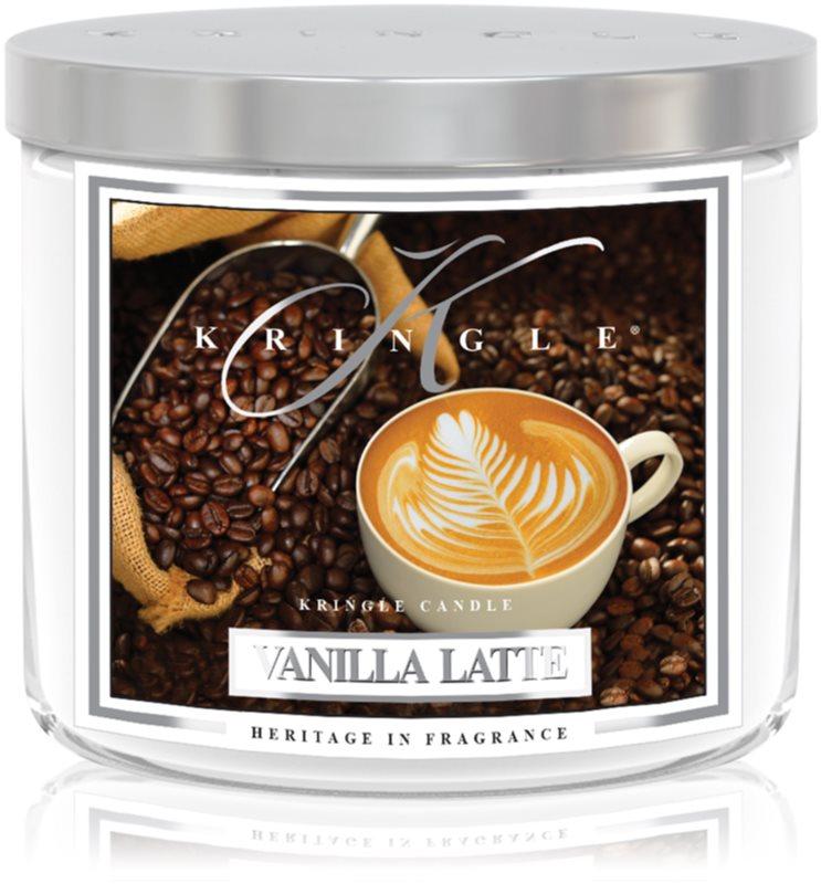 Kringle Candle Vanilla Latte vonná svíčka 411 g I.