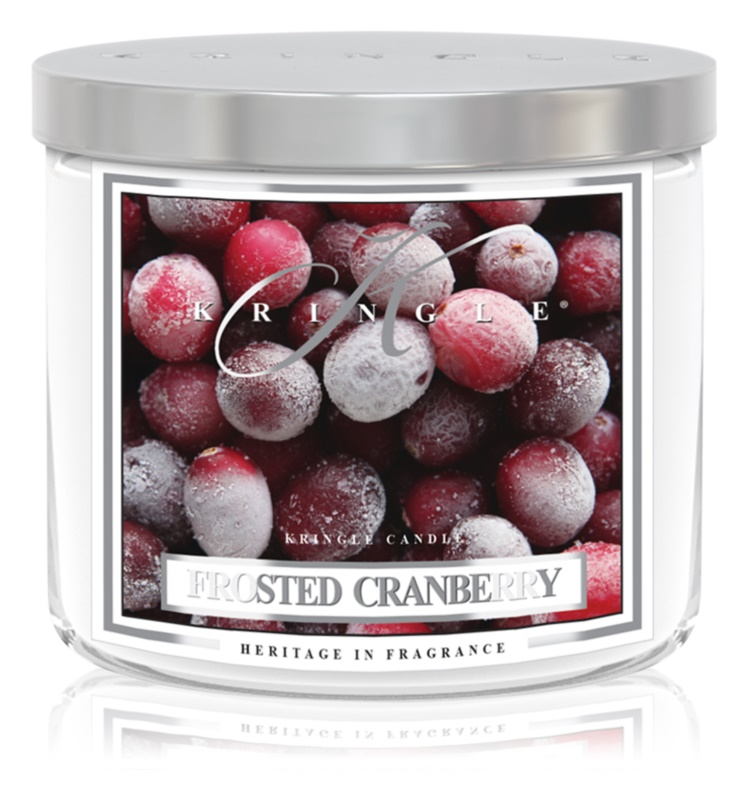 Kringle Candle Frosted Cranberry lumanari parfumate  411 g I.