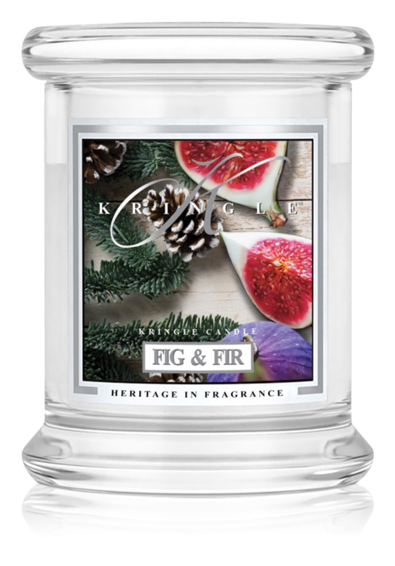 Kringle Candle Fig & Fir ароматизована свічка  127 гр