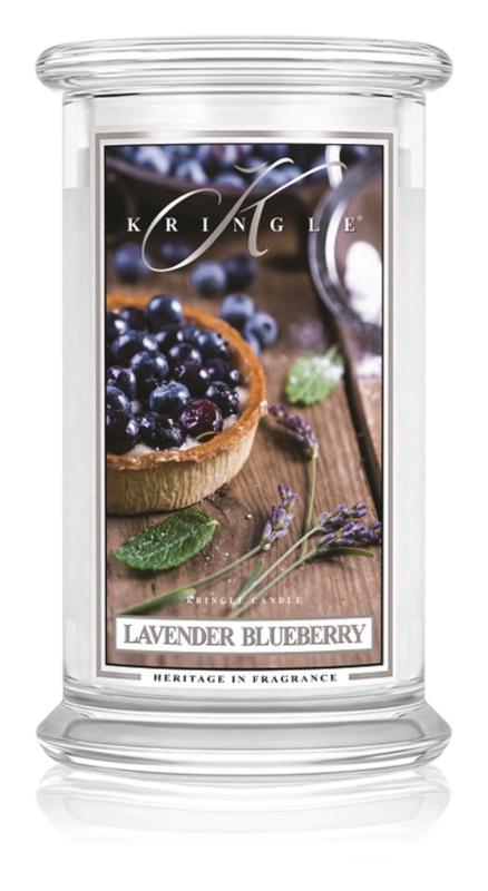 Kringle Candle Lavender Blueberry dišeča sveča  624 g