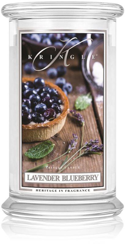 Kringle Candle Lavender Blueberry vonná svíčka 624 g