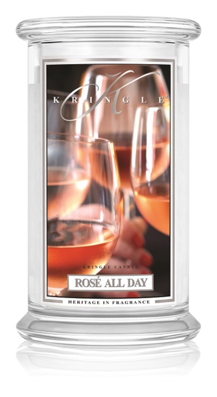Kringle Candle Rosé All Day vonná sviečka 624 g