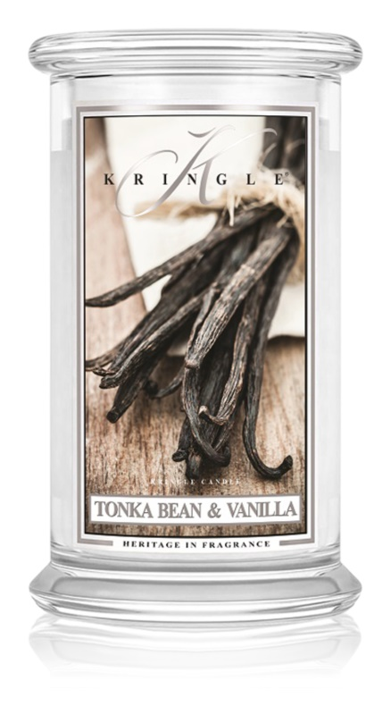 Kringle Candle Tonka Bean & Vanilla vonná svíčka 624 g