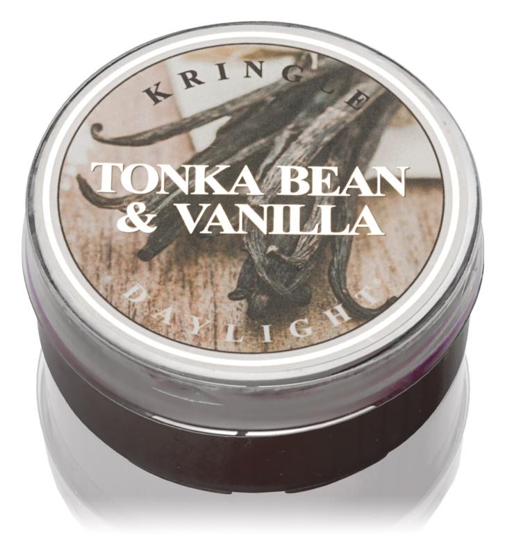 Kringle Candle Tonka Bean & Vanilla čajová sviečka 42 g
