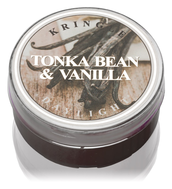 Kringle Candle Tonka Bean & Vanilla candela scaldavivande 42 g