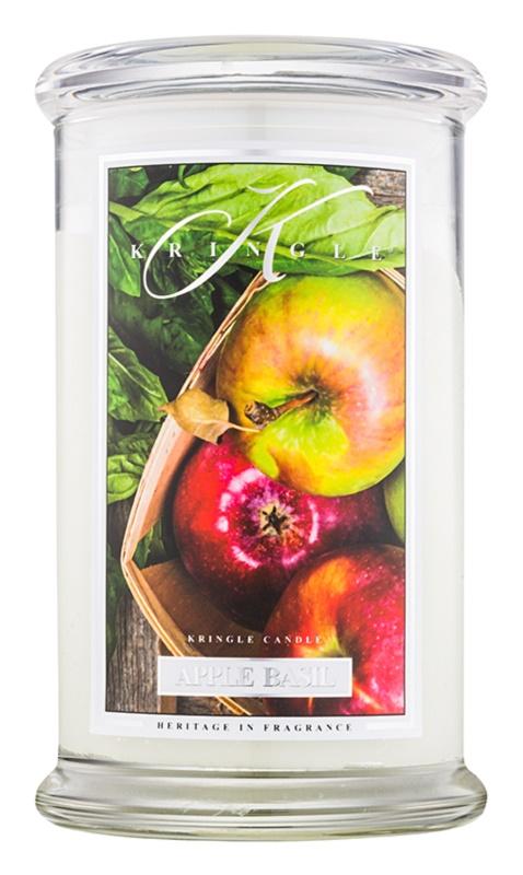 Kringle Candle Apple Basil ароматна свещ  624 гр.
