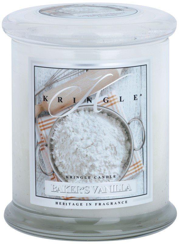 Kringle Candle Baker's Vanilla vonná svíčka 411 g