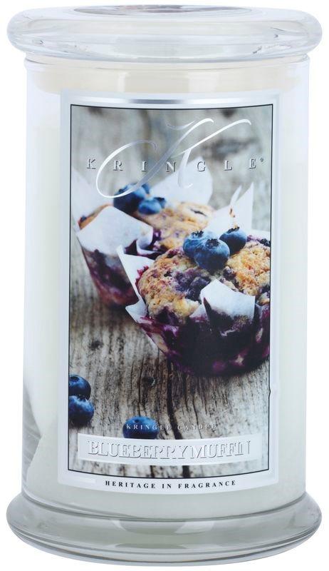 Kringle Candle Blueberry Muffin dišeča sveča  624 g