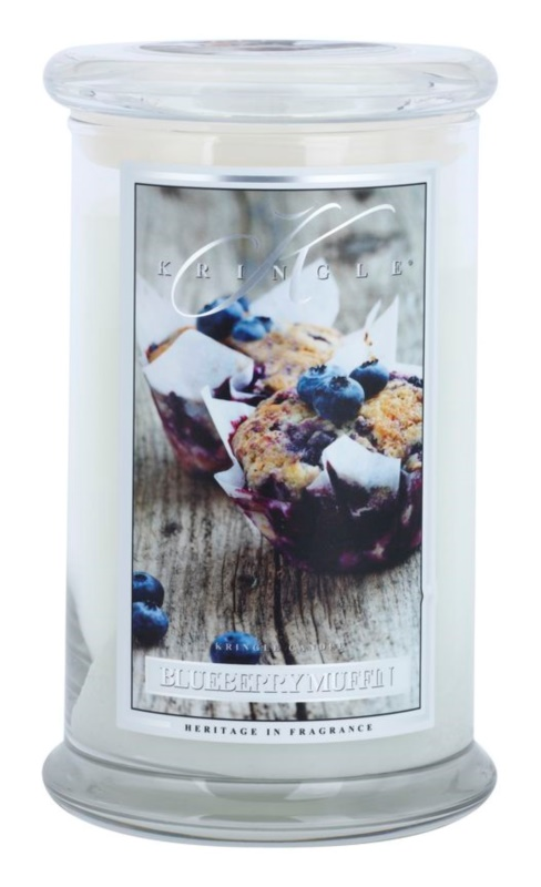 Kringle Candle Blueberry Muffin vonná svíčka 624 g