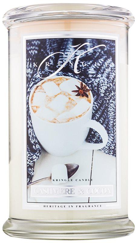Kringle Candle Cashmere & Cocoa bougie parfumée 624 g