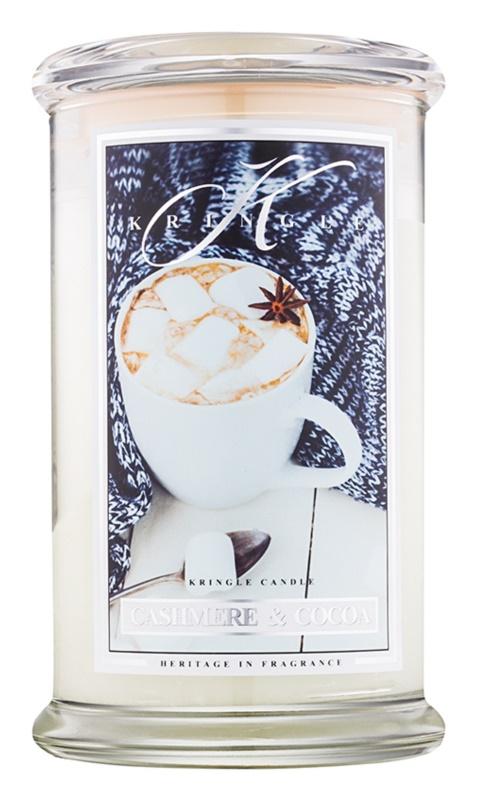 Kringle Candle Cashmere & Cocoa świeczka zapachowa  624 g